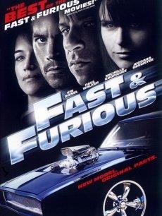 速度与激情4海报
